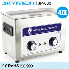Cina 4.5 L Mesin Pencuci Ultrasonic Stainless Steel Mechanical Knob Switch Lab Instrument pemasok