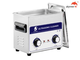 Cina JP-020 Medical Ultrasonic Cleaner, 120W Ultrasonic Parts Washer 3.2L Mechanical Knob pemasok