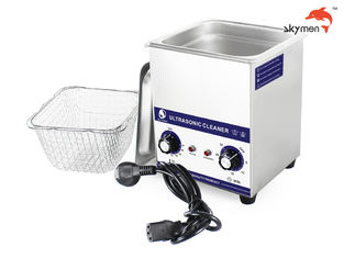 40KHz Table Top Ultrasonic Cleaner 2 Liter 100W Heating Function For Lab Tools