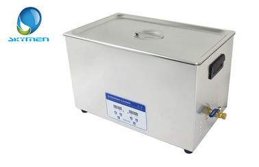 30L Large Tank Skymen Ultrasonic Cleaning Equipments CE Rohs Approved