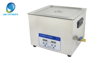 Industrial Skymen 15L Benchtop Ultrasonic Cleaner Tank With Basket