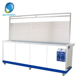 Cina Movable Venetian Window Blind Ultrasonic Cleaners dengan Water Rinsing Tank pabrik