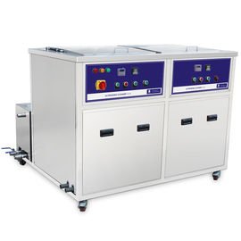 Cina 2 Chambers Ultrasonic Cleaning Machine Untuk Heat Pipe, heat exchanger tube Distributor