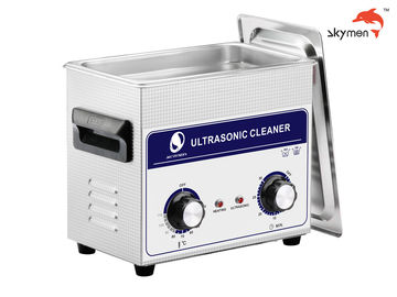 Cina JP-020 Medical Ultrasonic Cleaner, 120W Ultrasonic Parts Washer 3.2L Mechanical Knob pabrik