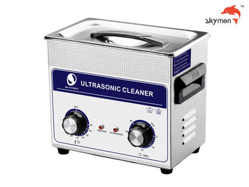 Cina 120W Ultrasonic Cleaning Equipment, Ultrasonic Parts Washer 3.2L Mechanical Knob pabrik